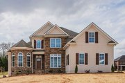 Traditional Style House Plan - 4 Beds 3 Baths 2072 Sq/Ft Plan #927-28