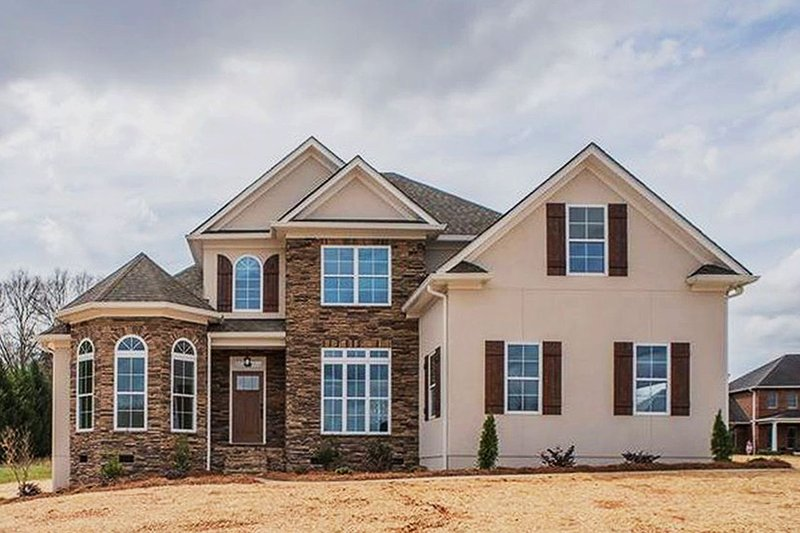 Home Plan - Traditional Exterior - Front Elevation Plan #927-28