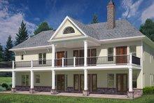 Craftsman Exterior - Rear Elevation Plan #119-425