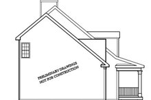 House Plan Design - Classical Exterior - Other Elevation Plan #927-795