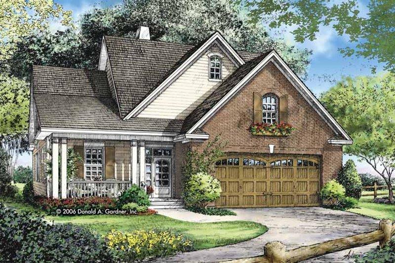Home Plan - Craftsman Exterior - Front Elevation Plan #929-821