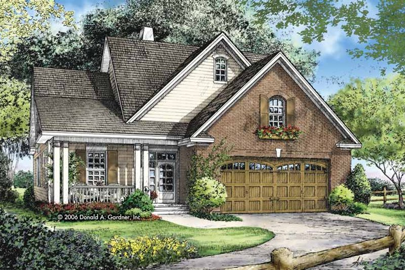 Craftsman Exterior - Front Elevation Plan #929-821