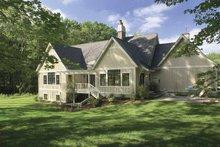 Architectural House Design - European Exterior - Rear Elevation Plan #928-40