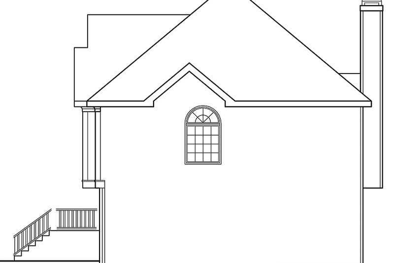 Traditional Exterior - Other Elevation Plan #927-702 - Houseplans.com