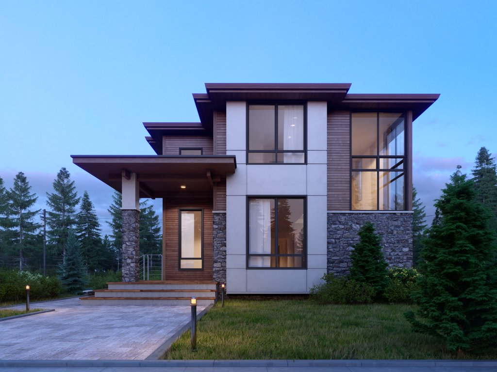 Contemporary Style House Plan - 5 Beds 4 Baths 3936 Sq/Ft Plan #1066-33 -  Dreamhomesource.com