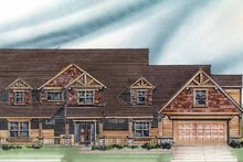Craftsman Exterior - Front Elevation Plan #509-357