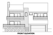 Contemporary Style House Plan - 3 Beds 2 Baths 1871 Sq/Ft Plan #116-125 Exterior - Other Elevation