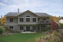 Dream House Plan - Craftsman Exterior - Rear Elevation Plan #928-80