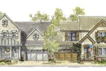 Cottage Exterior - Front Elevation Plan #20-1257