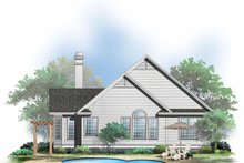 House Design - Country Exterior - Rear Elevation Plan #929-510