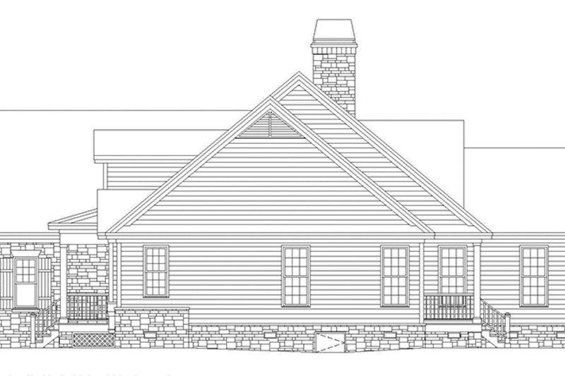 Craftsman Exterior - Other Elevation Plan #929-500 - Houseplans.com