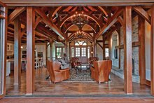 Architectural House Design - Craftsman Interior - Family Room Plan #132-561