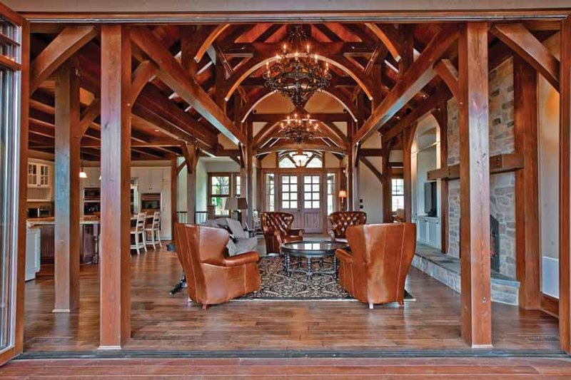 Craftsman Interior - Family Room Plan #132-561 - Houseplans.com