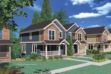 Home Plan - Country Exterior - Front Elevation Plan #48-825