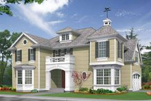 Craftsman Exterior - Front Elevation Plan #132-314