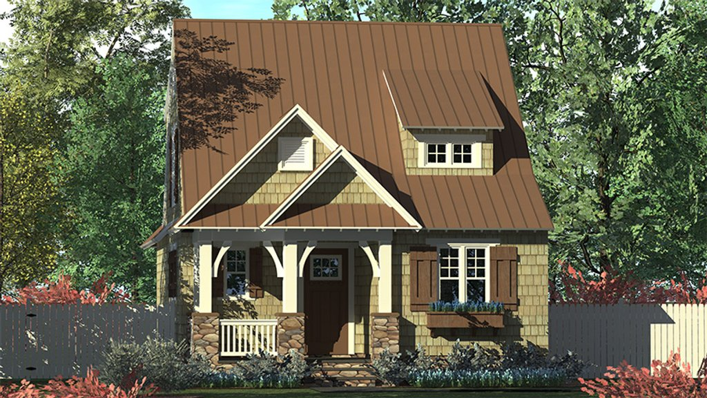 Craftsman Style House  Plan  3 Beds 2 5 Baths 1676 Sq Ft