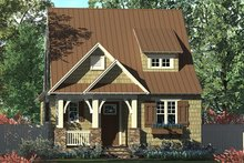 Architectural House Design - Craftsman Exterior - Front Elevation Plan #453-634