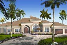 Dream House Plan - European Exterior - Front Elevation Plan #23-789