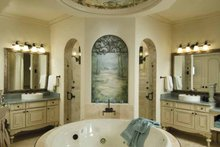 Mediterranean Interior - Bathroom Plan #1039-1