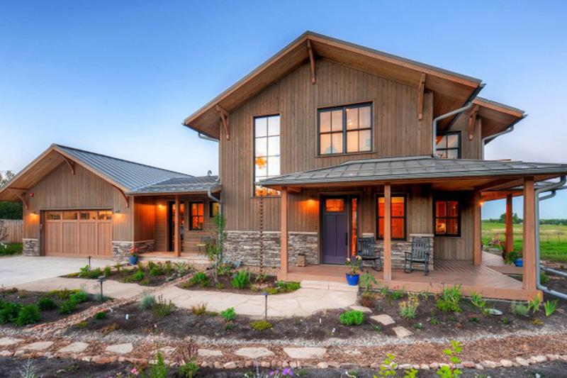 Prairie Exterior - Front Elevation Plan #1042-18 - Houseplans.com