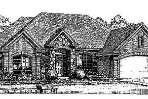 Exterior - Front Elevation Plan #310-738