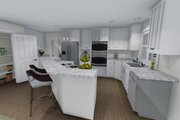 Farmhouse Style House Plan - 4 Beds 2.5 Baths 3356 Sq/Ft Plan #1060-1 Interior - Kitchen