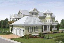 Traditional Exterior - Rear Elevation Plan #930-409