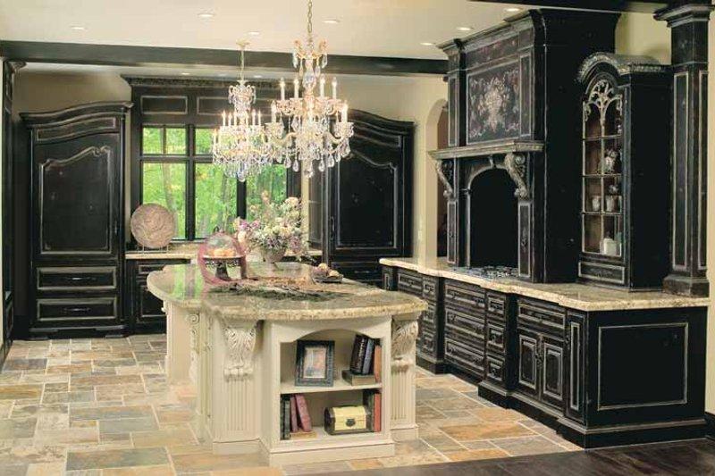 Tudor Interior - Kitchen Plan #928-61 - Houseplans.com