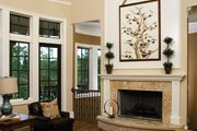 European Style House Plan - 4 Beds 4 Baths 4693 Sq/Ft Plan #929-892 Interior - Family Room