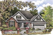 Architectural House Design - Ranch Exterior - Front Elevation Plan #929-763