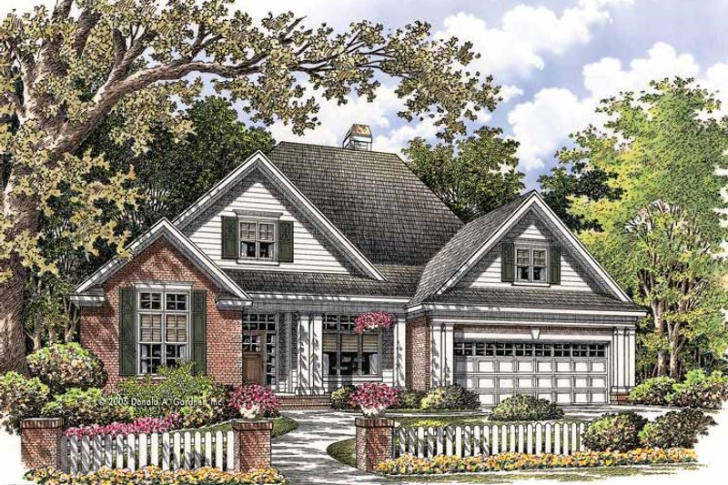 Ranch Exterior - Front Elevation Plan #929-763 - Houseplans.com