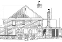 Architectural House Design - Craftsman Exterior - Other Elevation Plan #929-832