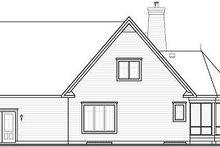 Dream House Plan - European Exterior - Rear Elevation Plan #23-855