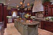 Mediterranean Style House Plan - 6 Beds 5 Baths 6493 Sq/Ft Plan #1058-1 Interior - Kitchen