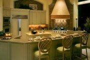 Mediterranean Style House Plan - 3 Beds 4.5 Baths 6340 Sq/Ft Plan #930-319 Interior - Kitchen