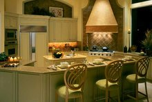 Mediterranean Interior - Kitchen Plan #930-319