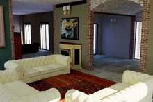 European Interior - Family Room Plan #542-9
