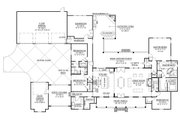 Farmhouse Style House Plan - 4 Beds 3.5 Baths 3272 Sq/Ft Plan #1074-3 Floor Plan - Main Floor Plan