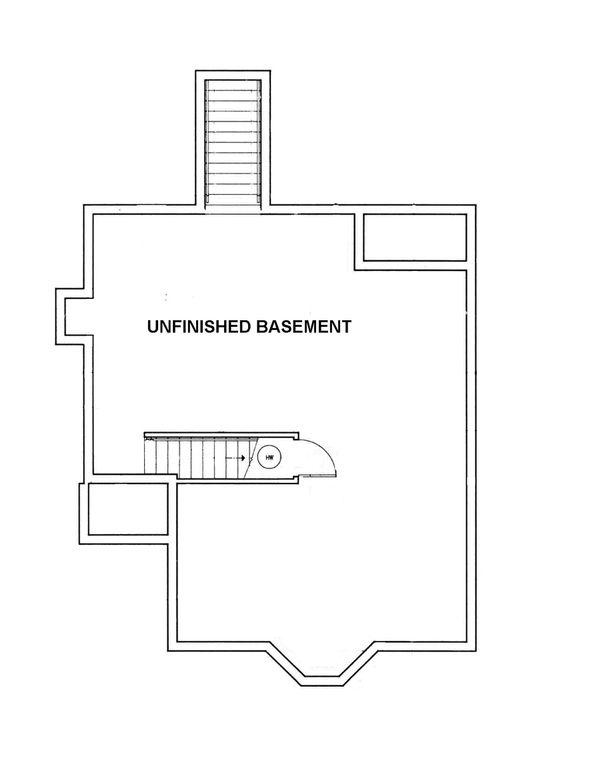 European Floor Plan - Other Floor Plan Plan #45-102