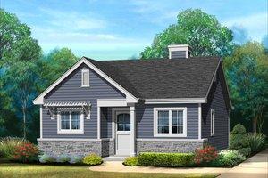 Cottage Exterior - Front Elevation Plan #22-607