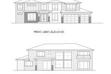 Prairie Exterior - Other Elevation Plan #1066-94
