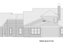 House Plan Design - Traditional Exterior - Rear Elevation Plan #932-341
