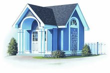 Colonial Exterior - Front Elevation Plan #23-761