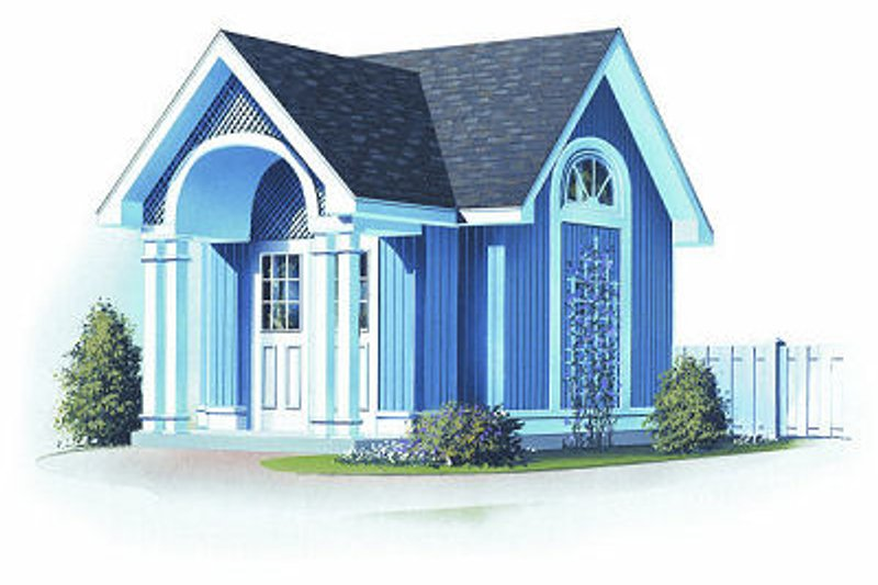 Home Plan - Colonial Exterior - Front Elevation Plan #23-761