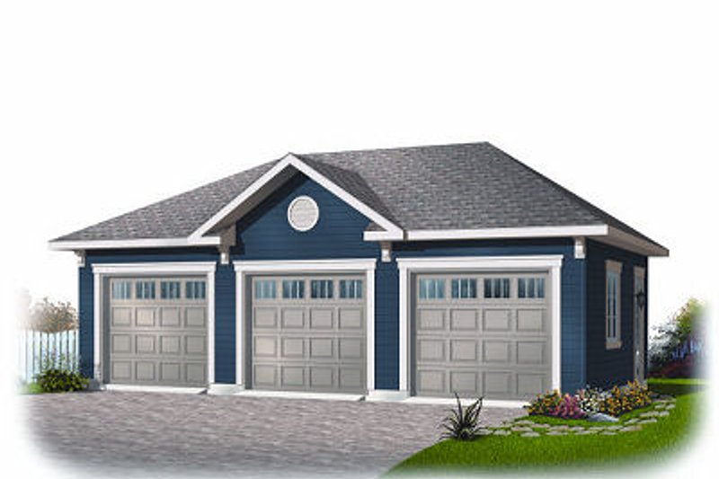 Traditional Exterior - Front Elevation Plan #23-856