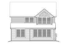 Traditional Exterior - Rear Elevation Plan #48-501