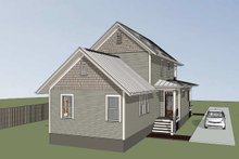 Dream House Plan - Craftsman Exterior - Other Elevation Plan #79-303