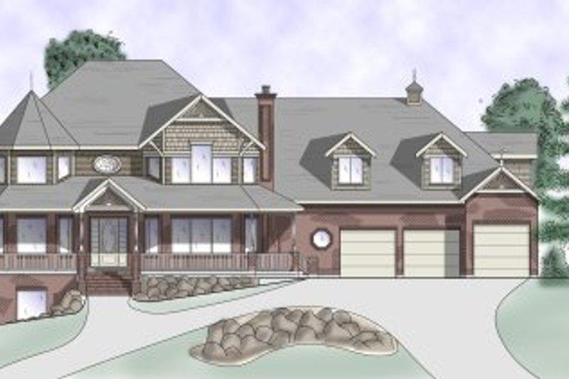 House Plan Design - Victorian Exterior - Front Elevation Plan #5-228