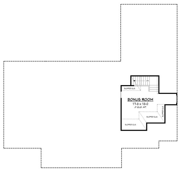 European Floor Plan - Other Floor Plan Plan #430-153
