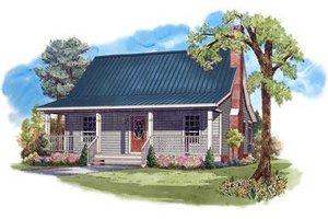 Architectural House Design - Farmhouse Exterior - Front Elevation Plan #21-232